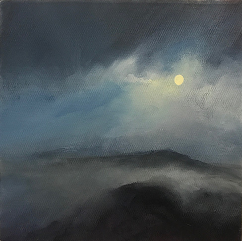 Moorland Full Moon